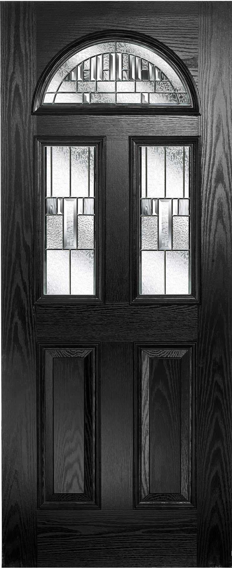 Banockburn 3 with Prairie Zinc Glass & Composite Doors \u2022 Composite Door Fitters Pezcame.Com