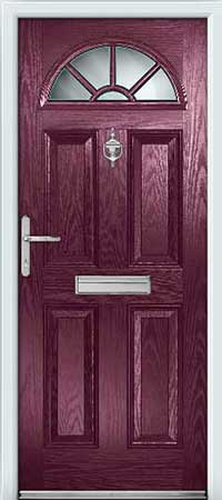 Aubergine Composite Door : door colours - Pezcame.Com