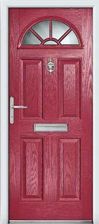 Deep Cerise Composite Door