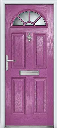 Foxglove Composite Door