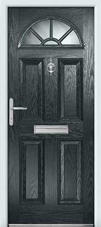 Gunmetal Composite Door