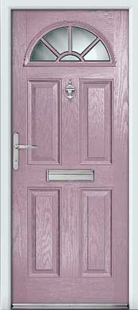 Hazy Composite Door