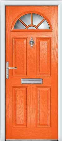 Mandarin Composite Door