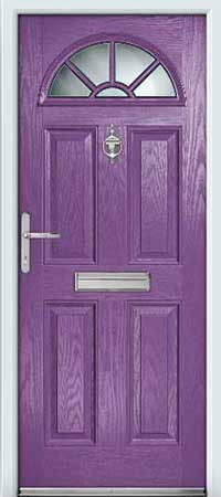 Passion Flower Composite Door