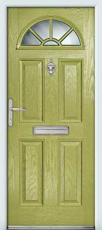 Pistachio Composite Door