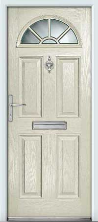 Pottery Composite Door
