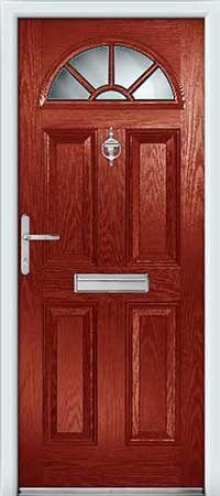 Traditional colours for our composite doors for Upvc french doors with cat flap