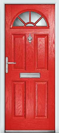 Salsa Red Composite Door