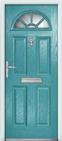 Sea Green Composite Door