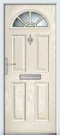 Soft Cream Composite Door