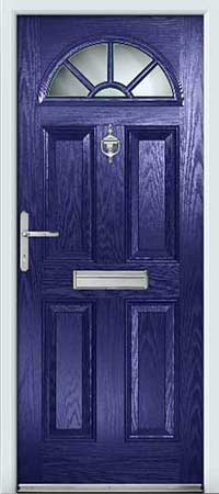 Ultramarine Blue Composite Door
