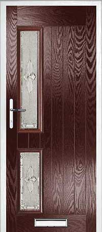 Farmhouse Bloomberg left Composite Door