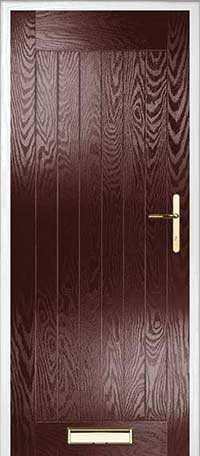 Farmhouse Solid Composite Door