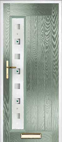 Farmhouse Empire Left Composite Door